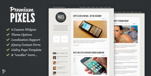 Premium Pixels – WordPress тема от PremiumPixels
